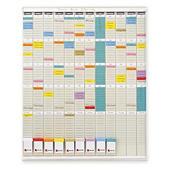Planning annuel 12 colonnes NOBO