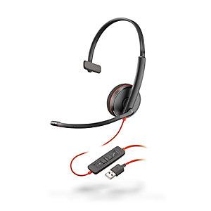 Plantronics Blackwire C3210 Auricular monoaural USB