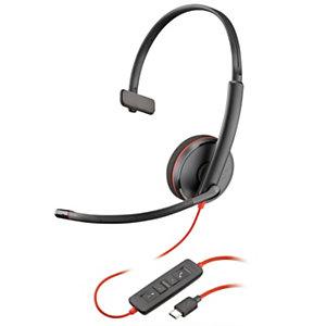 Plantronics Blackwire C3210 Auricular monoaural USB-C