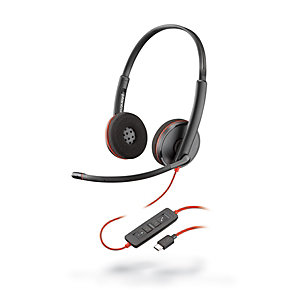 Plantronics Blackwire C3220 Auriculares estéreo USB-C