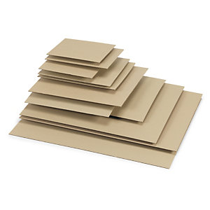 Plaque en carton ondulé
