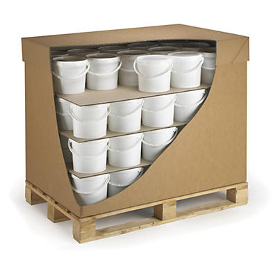Plaque intercalaire carton ondulé charges lourdes