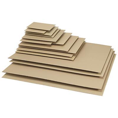 Plaque intercalaire en carton ondulé