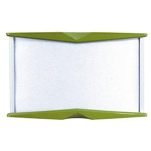 Plaque personnalisée Pyxis 5,5 x 9 cm verte