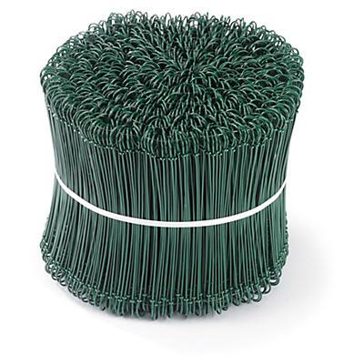 Plastbelagt sekketråd til lukking