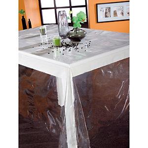 Plastic tafelkleed op rol van 1,40 x 30 m, doorschijnend