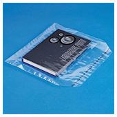 Plastic zak met zelfklevende sluiting, polyethyleen 50 micron