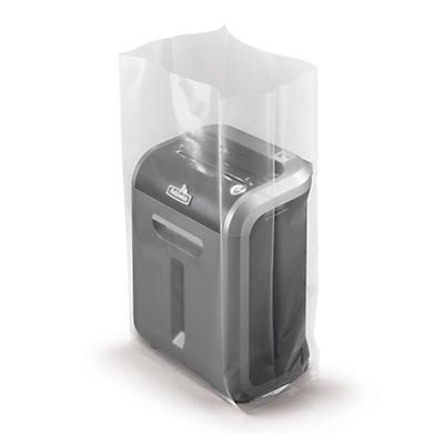 Sachet plastique à soufflets 150 microns##Plastic zak met zijvouwen 150 micron