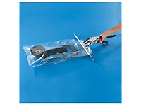Plastic zak met zijvouwen 200 micron