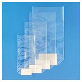 Plastic zakje met kartonnen bodem