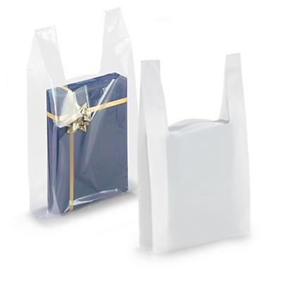 Plastikposer med hank - 50 my