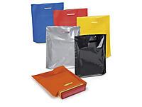 Plastikposer med udstansede håndtag - Stærke farver