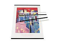 Plastlister til oppheng av kalendere og plakater