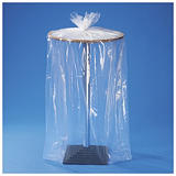 Plastpåsar med bälg 150 my - olika storlekar