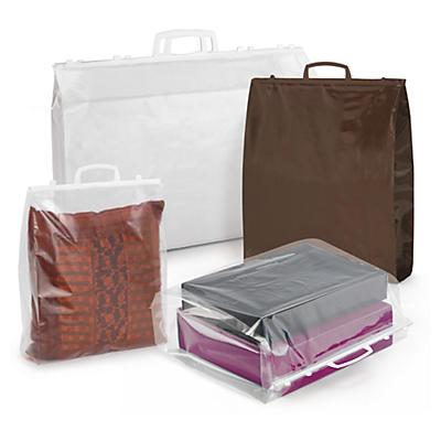 Plastpose med bøjlegreb