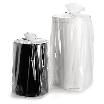 Plastposer med sidefals - 50 my