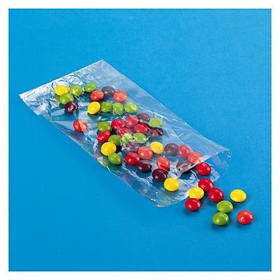 Sachet transparent plat##Plat plastic zakje