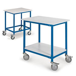 Plateau pour desserte mobile pour table de travail