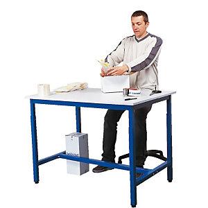 Plateau inférieur pour table de travail