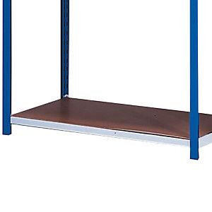 Plateau isobois 125 x 50 cm pour rayonnage Auto-Clip