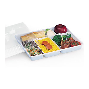 Plateau repas plastique standard