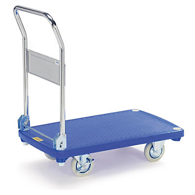 Plateauwagen met kunststof platform