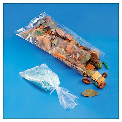 Plochý plastový sáčok
