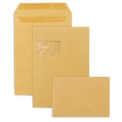 Pochette brune##Braune Versandtaschen