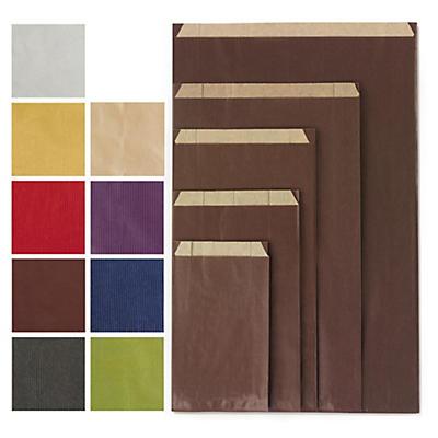 Pochette cadeau kraft couleur
