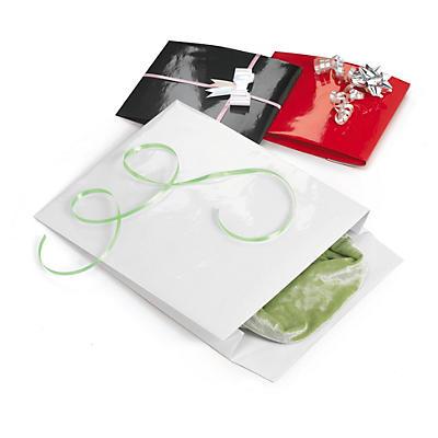 Pochette cadeau pelliculée couleur à rabat