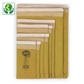 Pochette matelassée 100% papier Jiffy Green
