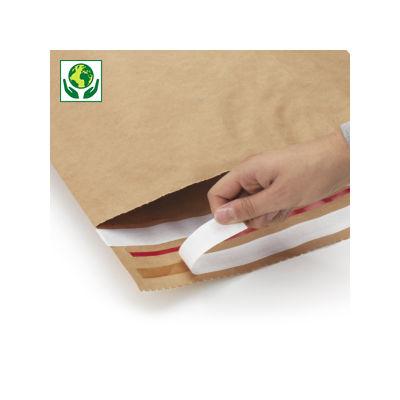Pochette papier kraft « aller-retour »