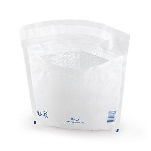 Pochette plastique matelassée bulles RAJA