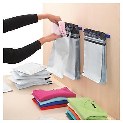 Pochette plastique opaque liassée##Gebundelde ondoorzichtige plastic envelop