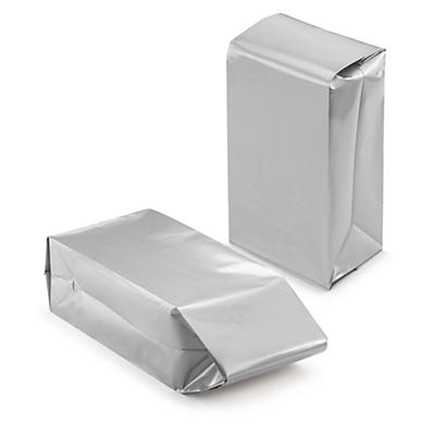 Pochette en plastique avec des soufflets sur les 3 côtés