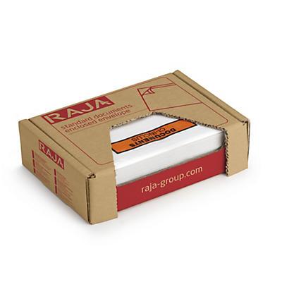 """Pochette porte-documents adhésive """"Documents ci-inclus"""" en mini-colis Eco RAJA"""