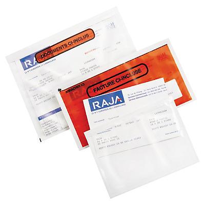 Pochette porte-documents adhésive imprimée RAJA Super