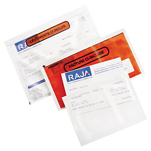 Pochette porte-documents adhésive imprimée Super RAJA