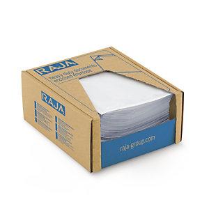 Pochette porte-documents adhésive transparente en mini-colis RAJA Super