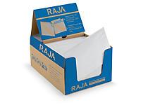 Pochette porte-documents adhésive transparente Rajalist