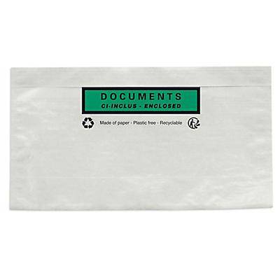 Pochette porte-documents imprimées en papier