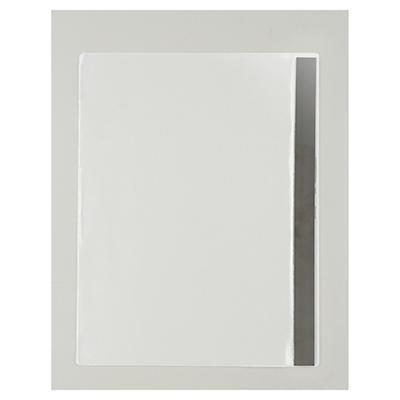 Pochette transparente d'affichage industrielle bande magnétique