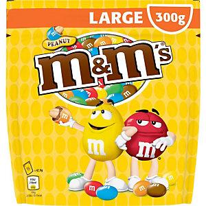 M&M'S Pochon de M&M's cacahuètes chocolat au lait - 300 g