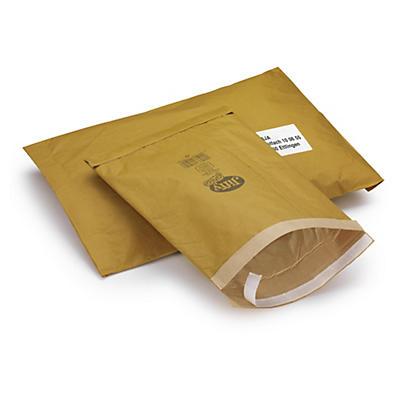 Polstret kuvert med selvklæbende lukning