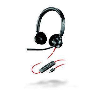 POLY Blackwire 3320 USB-C - Casque filaire Stéréo - Noir