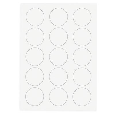 Polyester-Präsentations-Etiketten transparent