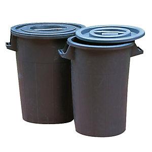 Polyethyleen vuilnisbak 90 L
