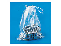 Polyethyleen zakje met trekkoordje
