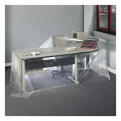 Polythene protective sheets