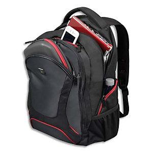 PORT DESIGNS Sac à dos Courchevel Back Pack 17,3 en nylon 600D - Dimensions : L36 x H55 x P22 cm Noir